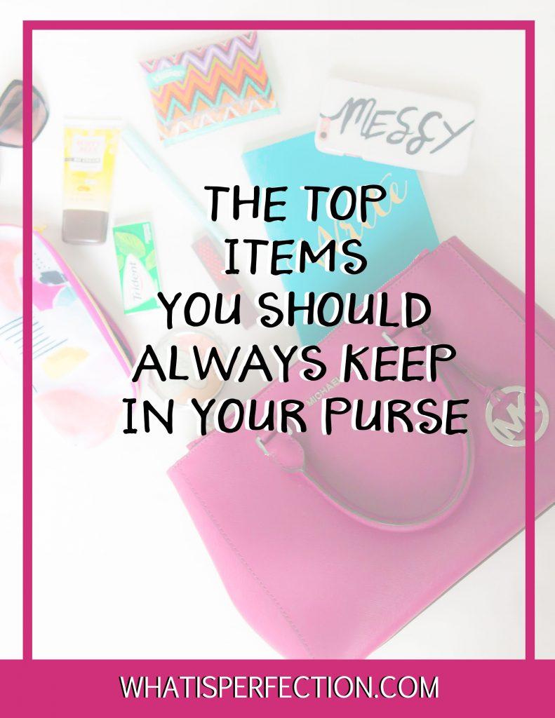 itemsyoushouldkeepinyourpurse